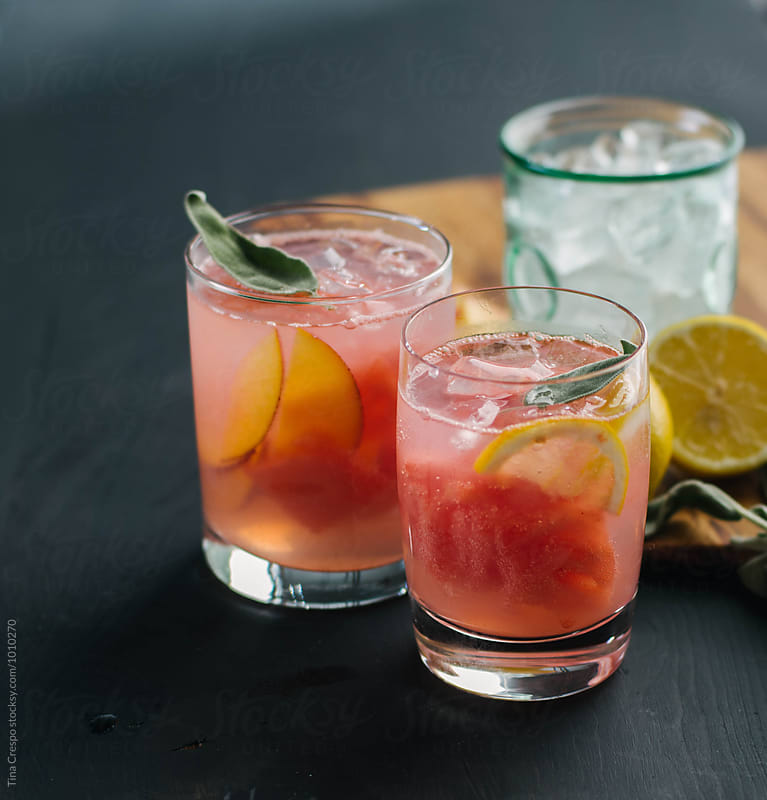 Mixed Drink Duo by Tina Crespo for Stocksy United