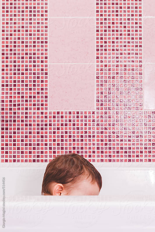 Cute Toddler Boy in the Bathtub by Giorgio Magini for Stocksy United