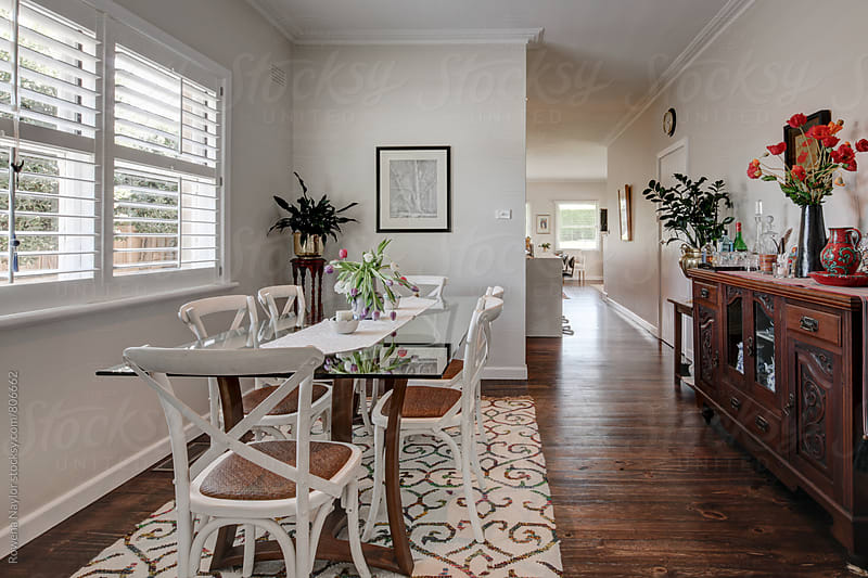 Class Country Dining Room by Rowena Naylor for Stocksy United