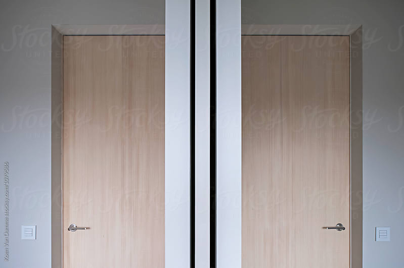 2 doors . symmetry by Koen Van Damme for Stocksy United