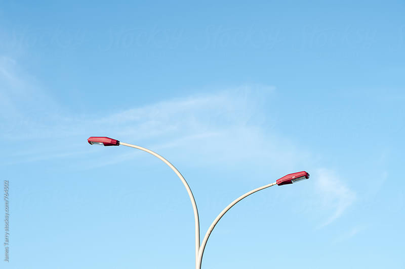 Lampost curves  by James Tarry for Stocksy United