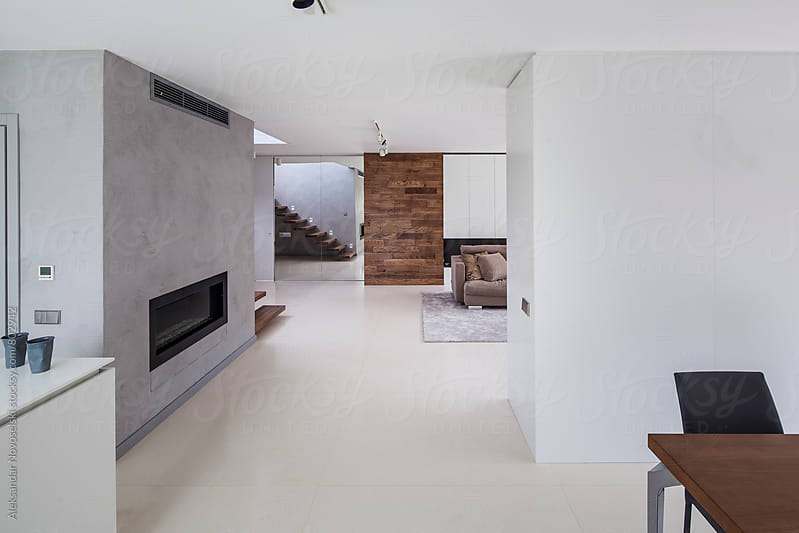 Minimalist interior by Aleksandar Novoselski for Stocksy United