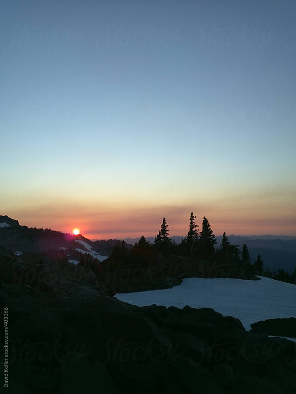 Sunset in Eastern Oregon by David Keller for Stocksy United