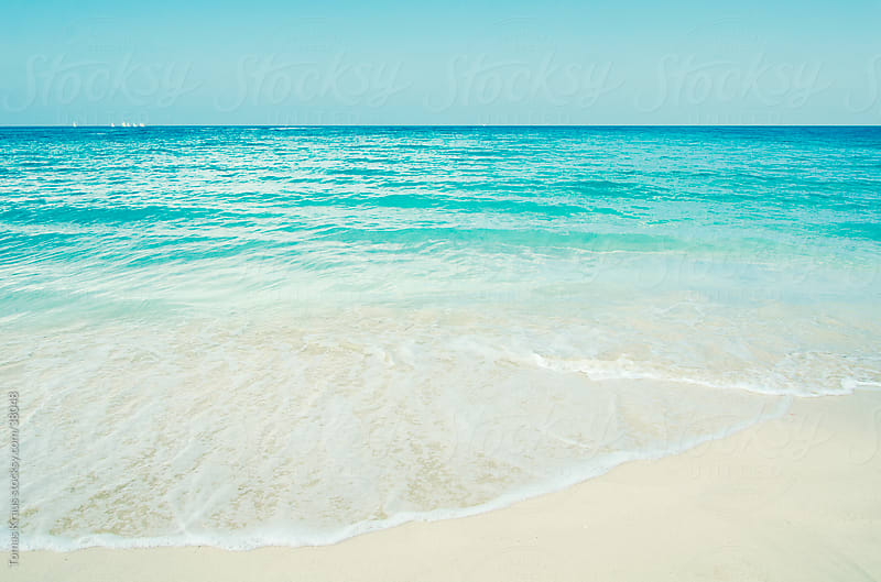 ocean scene from cuba by Tomas Kraus for Stocksy United