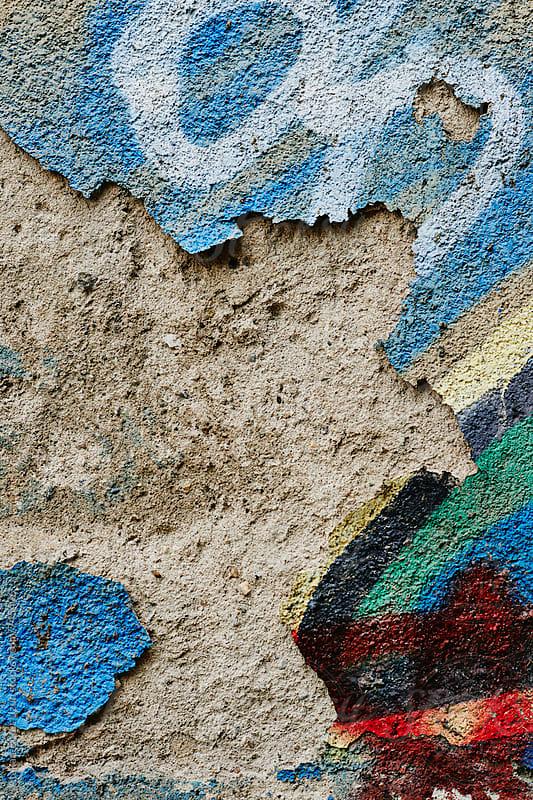 crumpled wall drawings by Atakan-Erkut Uzun for Stocksy United