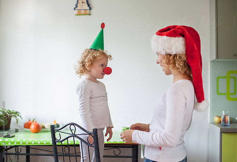 Christmas family fun by Jelena Jojic Tomic for Stocksy United