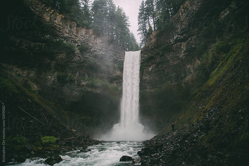 Brandywine Falls by Kristopher Orr for Stocksy United