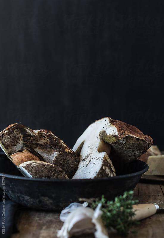 Boletus - Mushrooms by KEMA Food Culture for Stocksy United