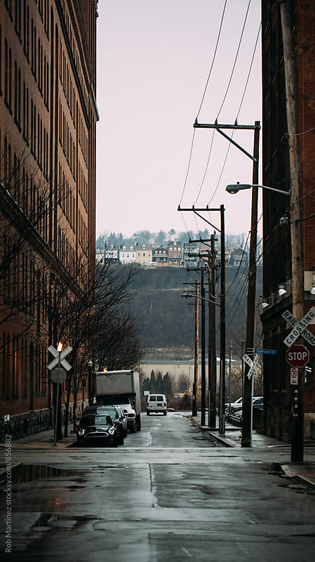 STREETS OF PITTSBURGH  by Rob Martinez for Stocksy United