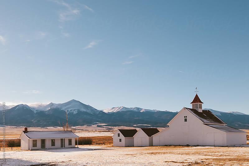 Winter Barn by Casey McCallister for Stocksy United