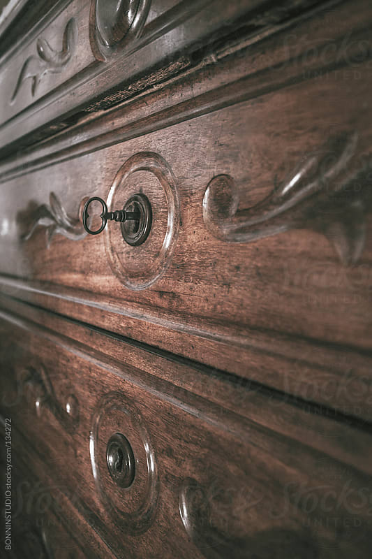 Old chest of drawers. by BONNINSTUDIO for Stocksy United