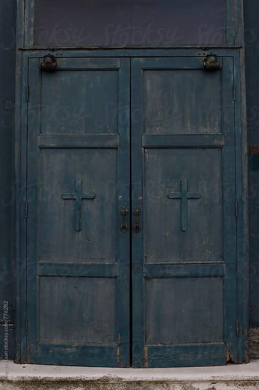 old church doors by Rene de Haan for Stocksy United