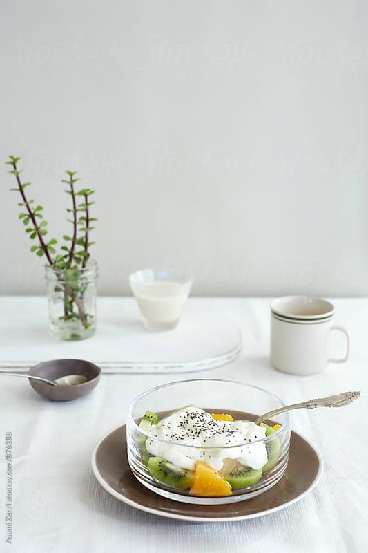 light breakfast  by Asami Zenri for Stocksy United