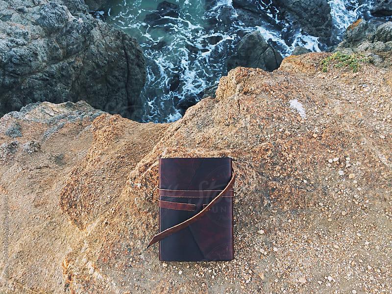 Journal on Ocean Cliffs by Christian Gideon for Stocksy United