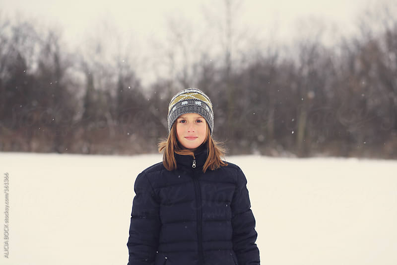 Winter Girl by ALICIA BOCK for Stocksy United