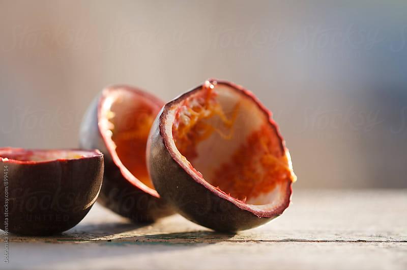 Empty Passion Fruit by Dobránska Renáta for Stocksy United