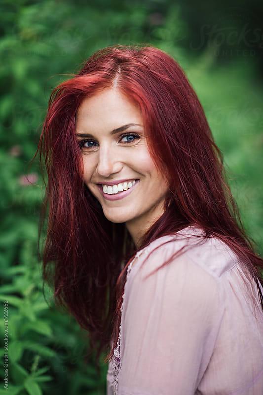 summer redhead by Andreas Gradin for Stocksy United
