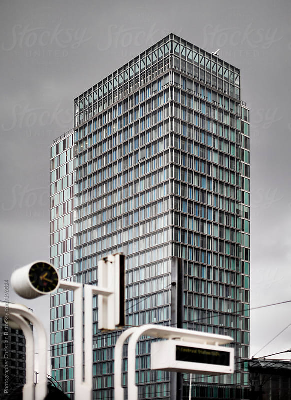 Dramatic office building by Photographer Christian B for Stocksy United