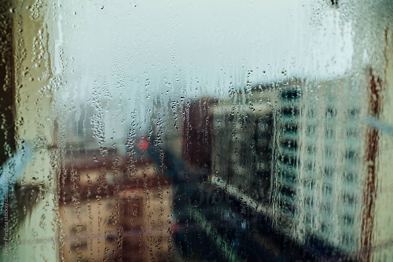 View from my wet window by Javier Pardina for Stocksy United