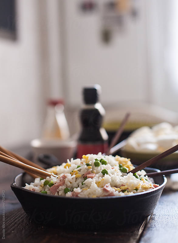Chinese Fried Rice  by Davide Illini for Stocksy United