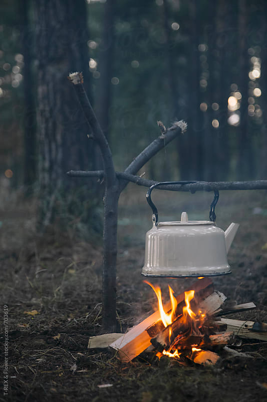 Closeup of the kettle by Danil Nevsky for Stocksy United