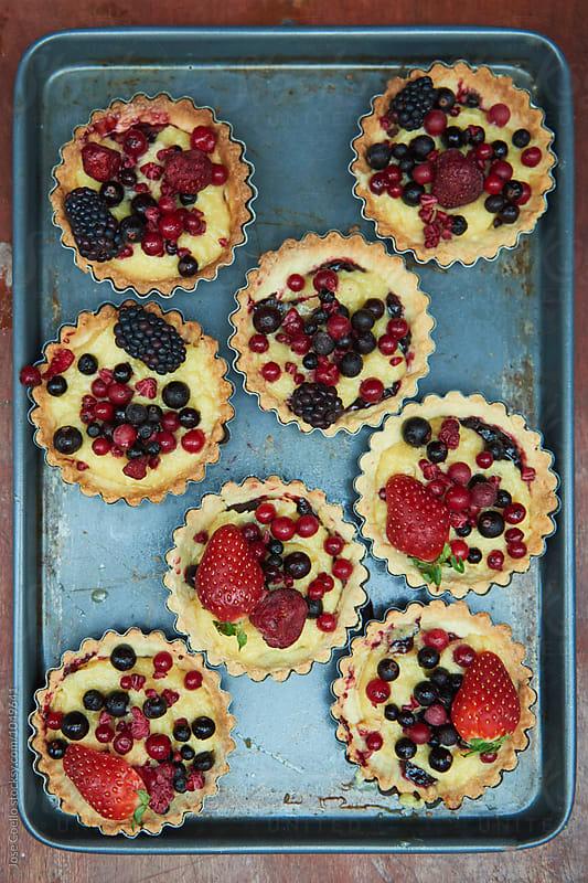 Fruit tart by Jose Coello for Stocksy United