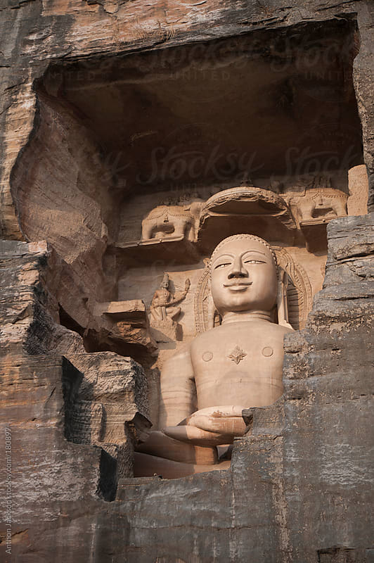 Jain Sculpture, Gwalior by Anthon Jackson for Stocksy United