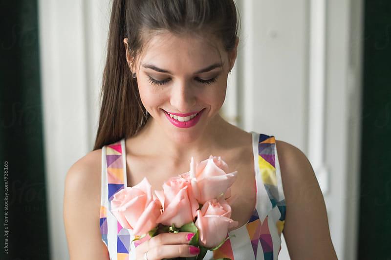 Flower girl by Jelena Jojic Tomic for Stocksy United