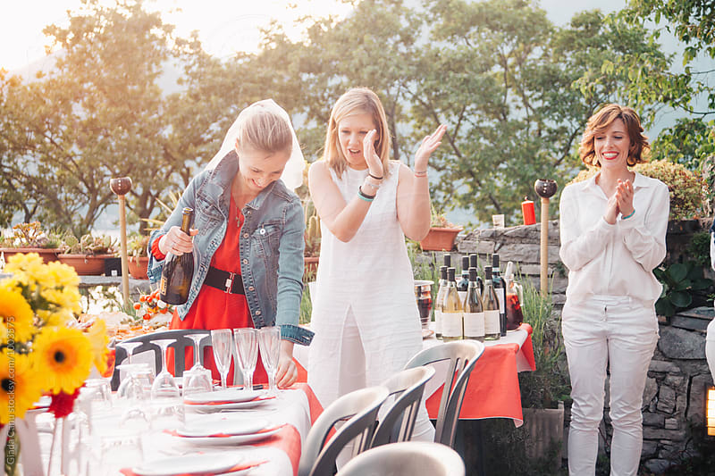 Bachelorette party by Giada Canu for Stocksy United