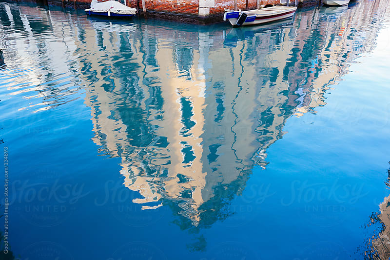 Reflections in Venice by Good Vibrations Images for Stocksy United