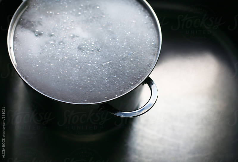 Pot of Soapy Water In The Sink by ALICIA BOCK for Stocksy United