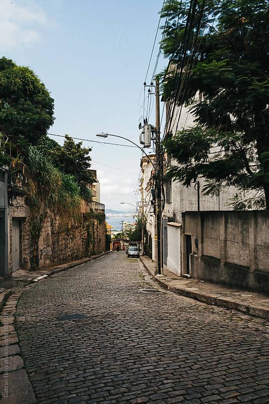 Street in Rio de Janeiro by Gabriel Tichy for Stocksy United