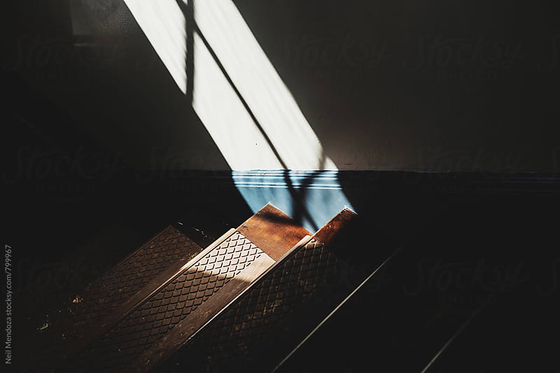Stairs and Shadows by Neil Mendoza for Stocksy United