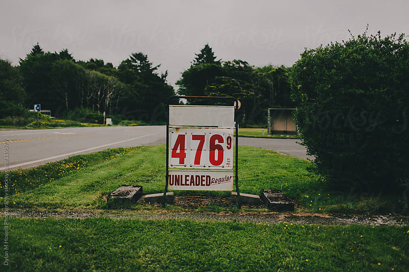 Country Gas Station by Dylan M Howell Photography for Stocksy United