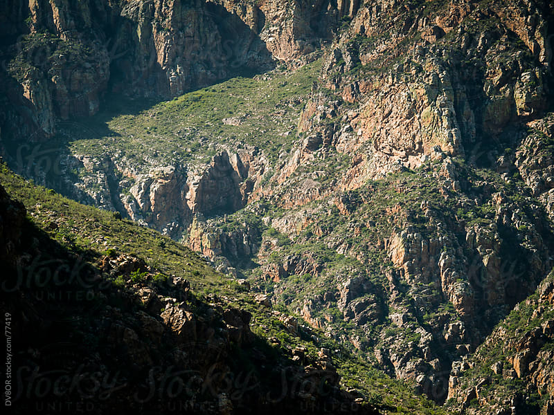 Rocky mountain landscape Near Capetown South Africa by DV8OR for Stocksy United