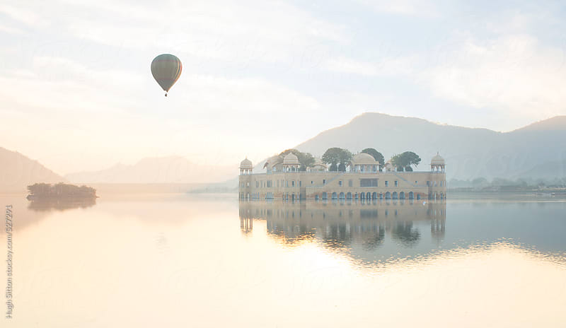 Jai Mahal (Lake Palace). Jaipur, India. by Hugh Sitton for Stocksy United