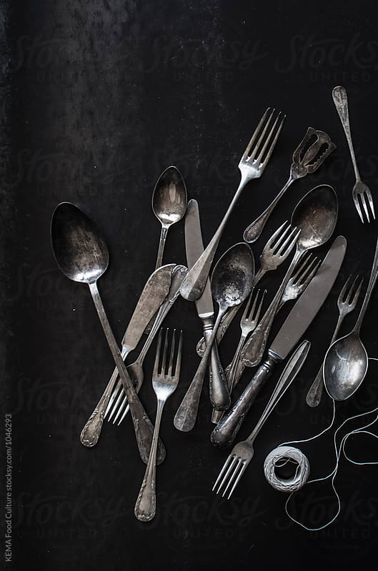 Vintage cutlery by KEMA Food Culture for Stocksy United