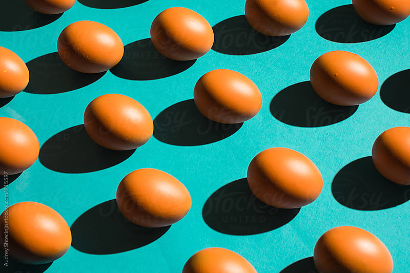 Easter eggs patterns by Marko Milanovic for Stocksy United