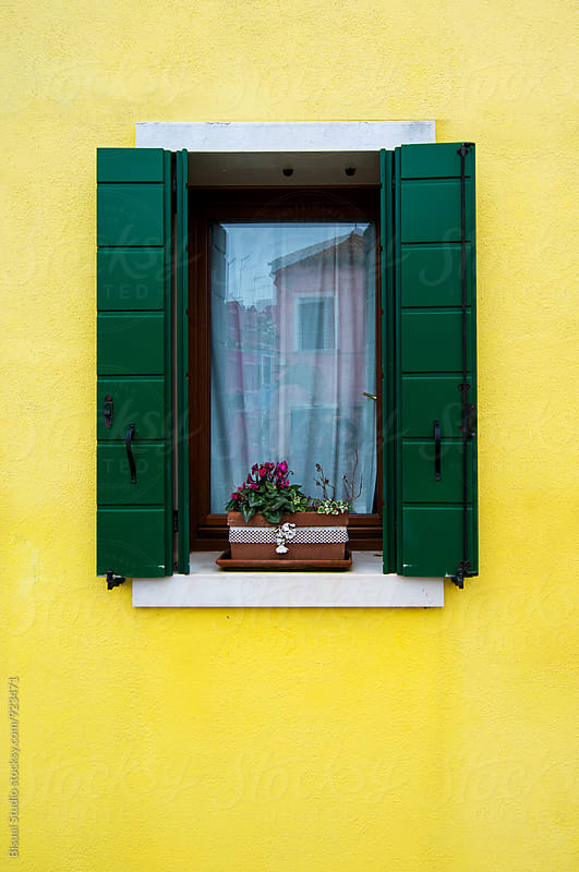Colorful house in Burano by Bisual Studio for Stocksy United