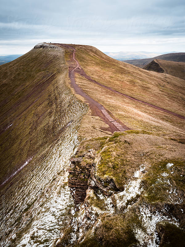 Pen y Fan, Brecon Beacons, Wales by Rich Jones for Stocksy United