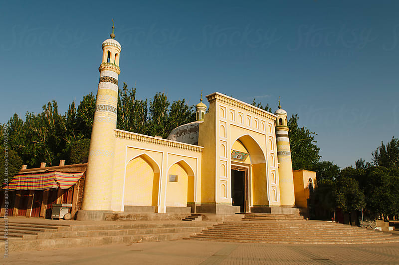 Id Kah Mosque minaret, Kashgar, China. by Thomas Pickard Photography Ltd. for Stocksy United