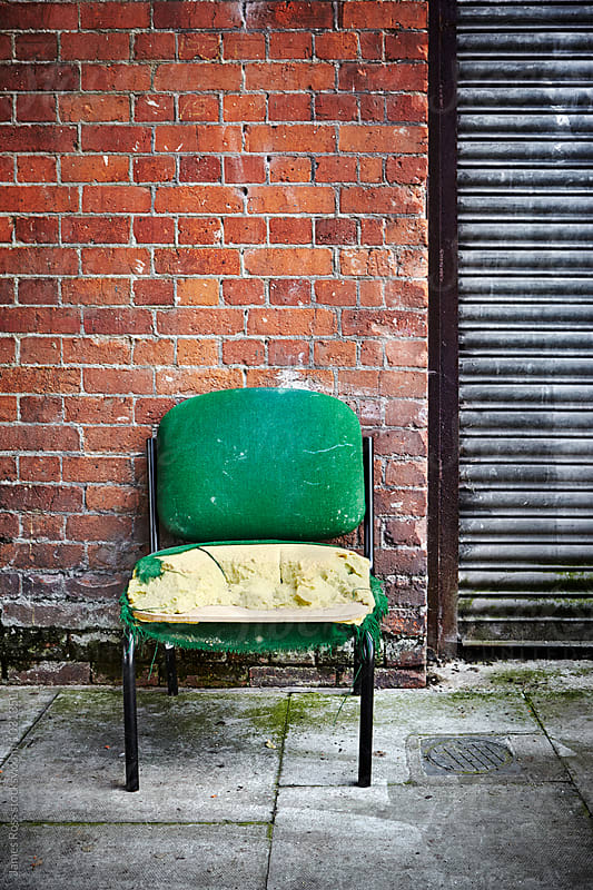 An old chair by James Ross for Stocksy United