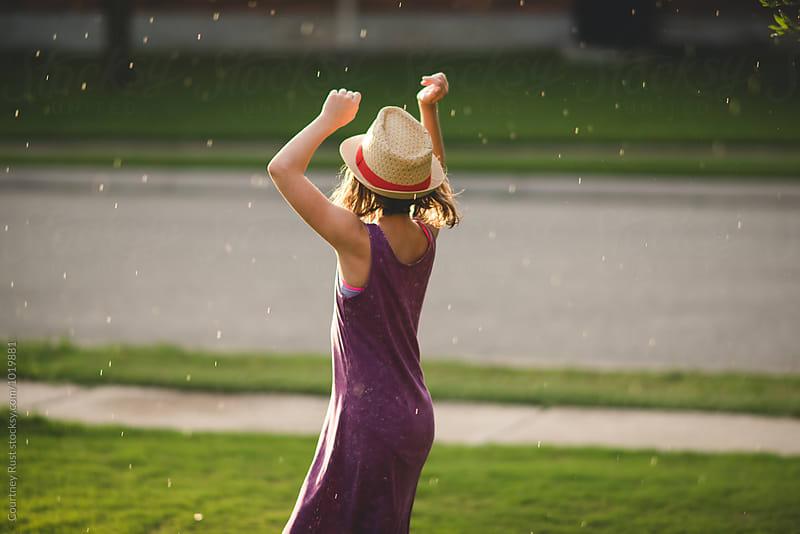 Rain dance by Courtney Rust for Stocksy United