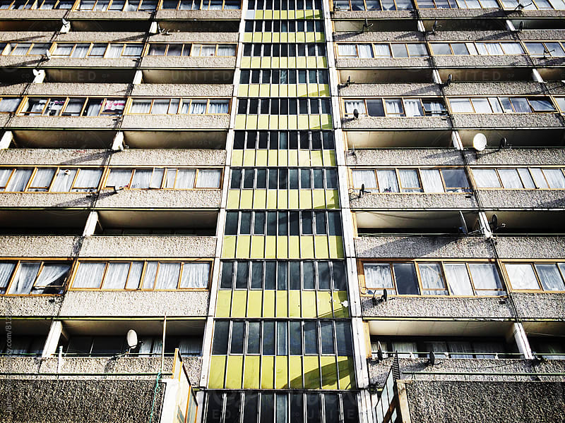 An inner city tower block by James Ross for Stocksy United