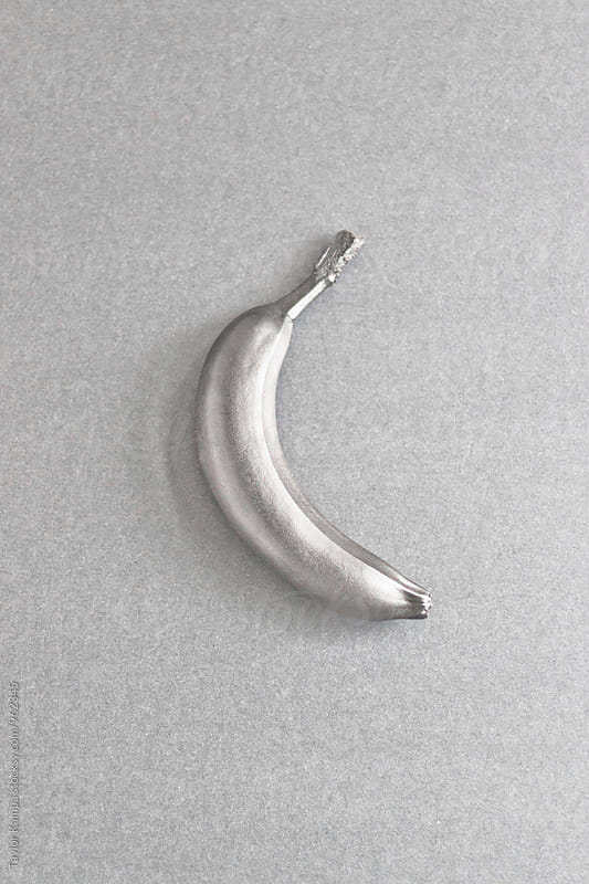 Silver Banana by Taylor Kampa for Stocksy United