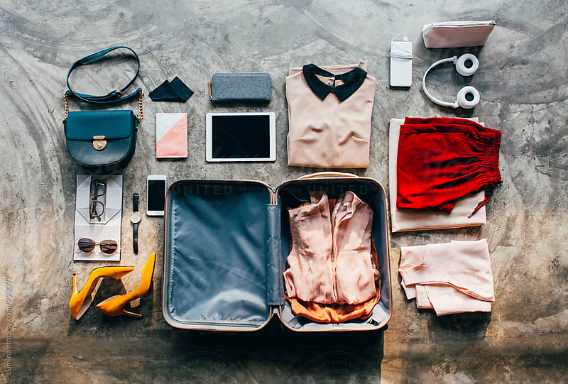 Woman's Suitcase by Lumina for Stocksy United