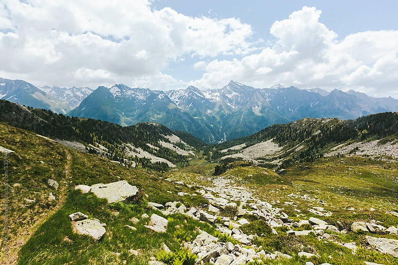 Alpine Landscape by Good Vibrations Images for Stocksy United