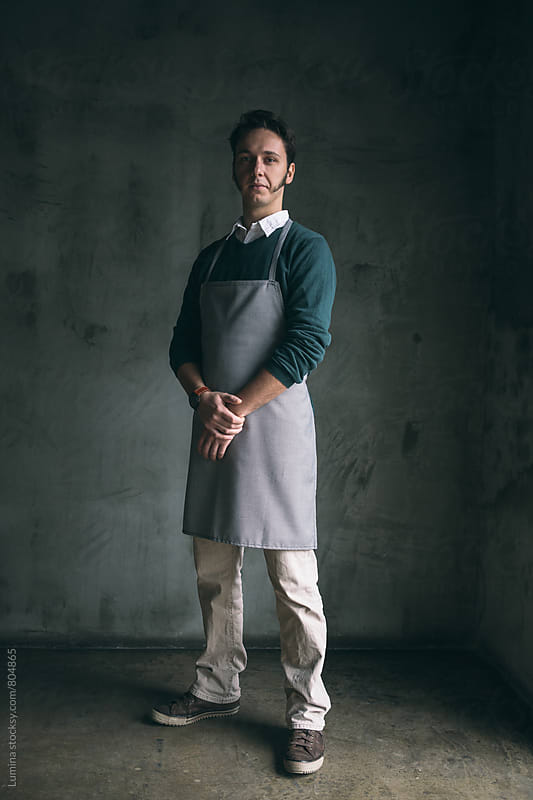 Bakery Owner's Portrait by Lumina for Stocksy United