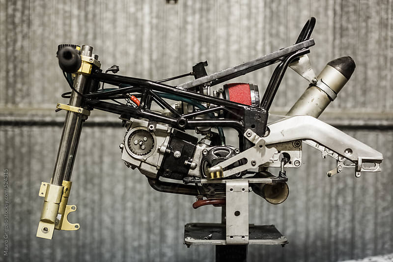 Mini Motorbike by Mauro Grigollo for Stocksy United