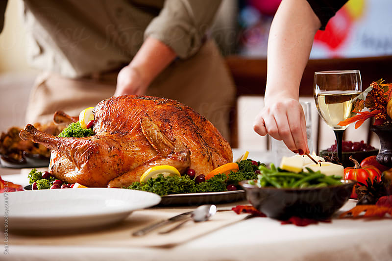 Thanksgiving: Ready For Holiday Dinner by Sean Locke for Stocksy United